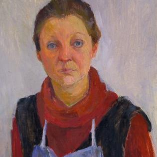 Zelfportret, ca. 1980