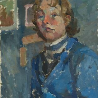 Zelfportret, ca. 1960