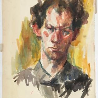 Portret van Willem