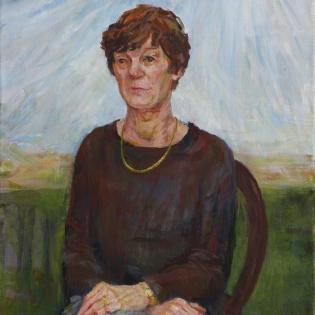 Portret van Janny van der Wal