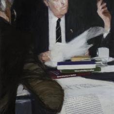 Portret van prof. dr. A.C.M. van Melsen