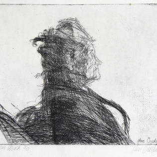 Portret van mevrouw J. Alink-Beekwilder