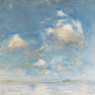 Plein air-studie, 1981, olieverf op paneel, 38 x 46 cm Collectie Gijsbert van der Wal