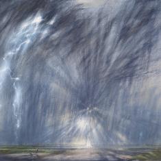 Donder en bliksem boven de Waal