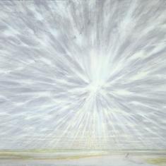 Doorbrekende zon boven de Waal, 2004