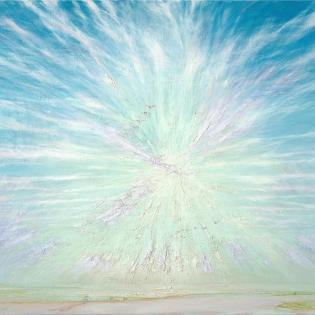 Herfstzon boven de Waal, 2004