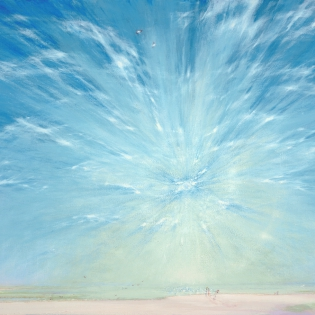 Zomerse zon boven de Waal, 2005
