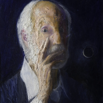 Zelfportret op 89-jarige leeftijd
