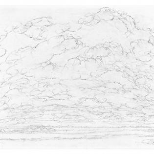 Een intocht van wolken.