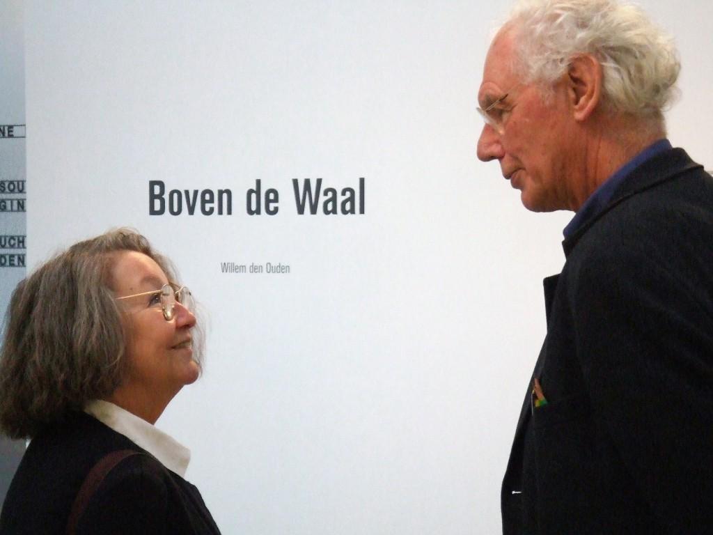 Ferry en Willem den Ouden, Den Bosch nov 2005 - foto Matthijs Reppel
