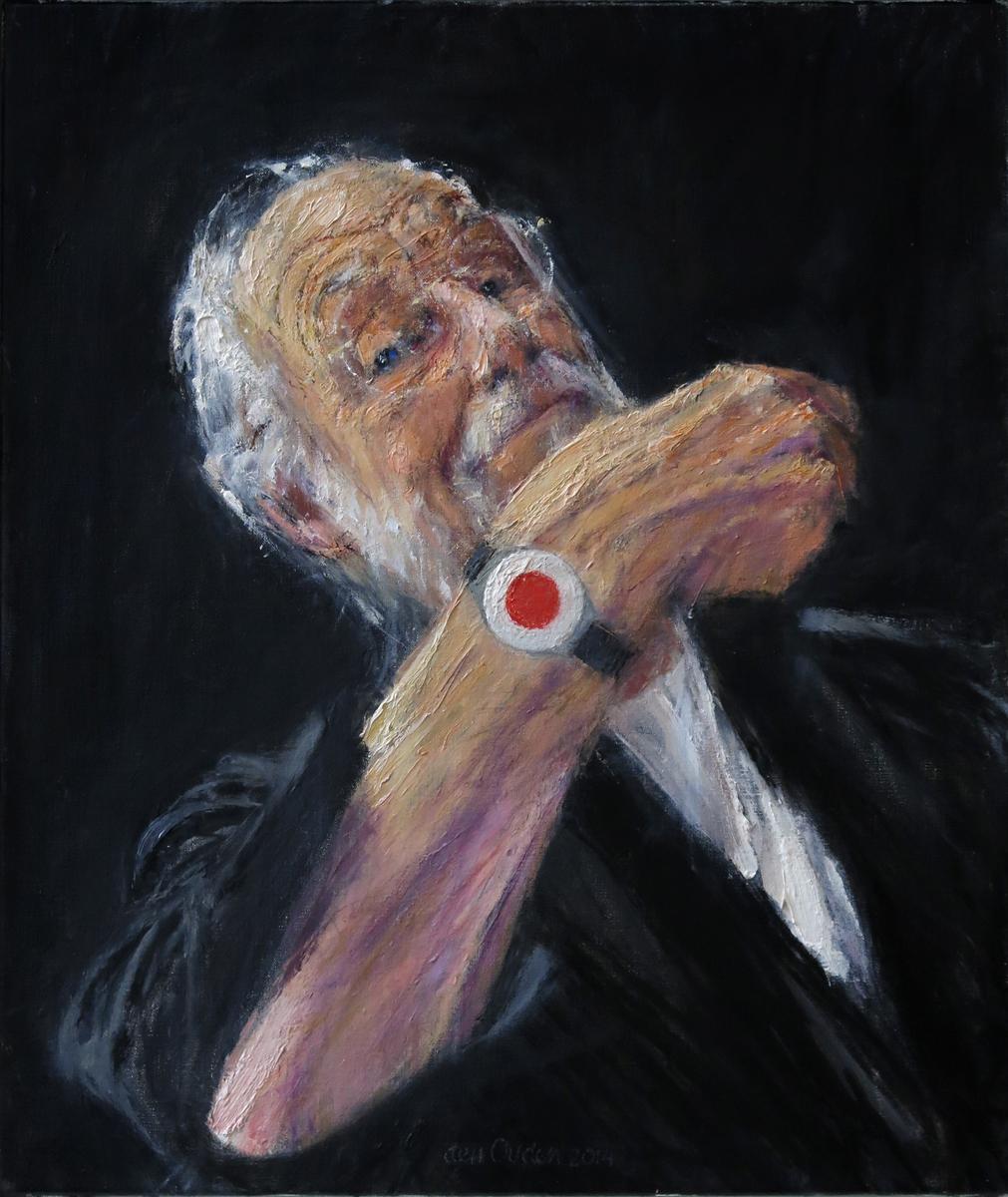 Zelfportret met alarmeringsknop (2014)